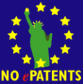 Protest against software patents